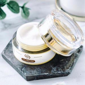 Cream Pemutih Wajah Pelembab Wajah Cream 2 in 1 Glamione 100% BPOM