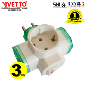 VETTO Paket V880/SW (3 PCS) - Steker T Switch
