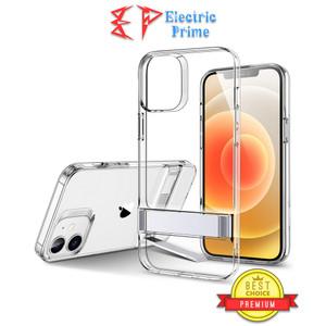 ESR Case Iphone 12 Pro Max Casing Silikon Metal Stand Cover Transparan