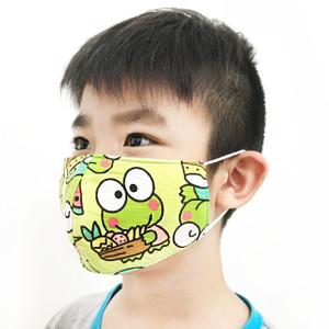 Masker Anak Duckbill Kain Katun 3 Layer Bahan Tebal Kuat Bisa Dicuci