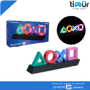 Icons icon Light Playstation With 3 Light Modes Lampu Hias Playstation