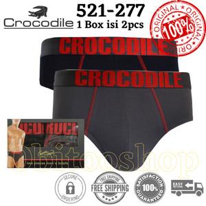 Celana Dalam Pria Crocodile (277) 2pcs/Box | Kolor Laki Laki
