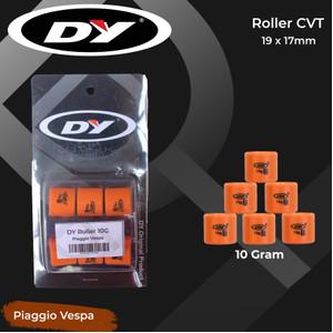 Roller Pulley/ CVT DY 10 Gram untuk Piaggio Vespa S 125 2V/ S 150/ LX