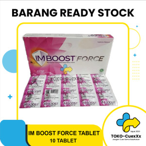 Imboost Force Caplet 1strip isi 10tablet