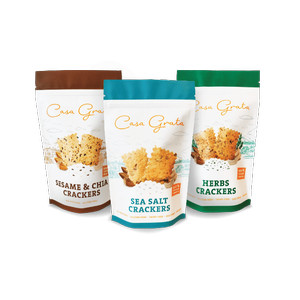 Pack of 2 Casa Grata Crackers