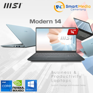 MSI Modern 14 B11SB [9S7-217/218]|i7-1165G7|16GB|512GB|MX450 2GB|Win10