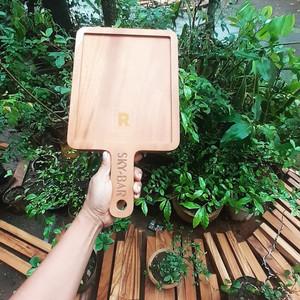Tray / Nampan Talenan Kayu Mahoni Size 26 x 21