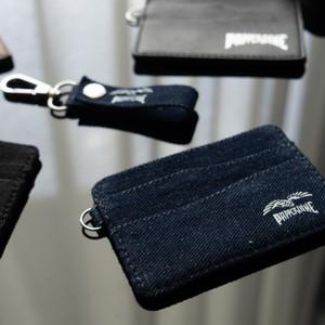 Papperdine Jeans Cardholder Keychain Lanyard Set