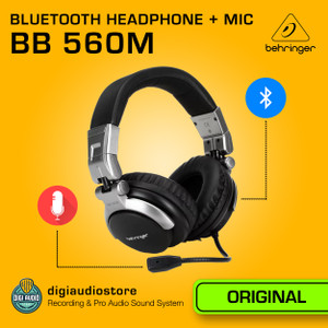Wireless Headphone Gaming Bluetooth with Headset Mic Behringer BB 560M