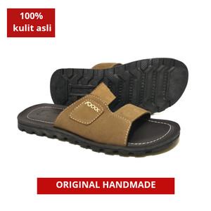Sandal pria kulit asli termurah sandal kulit model ban dua terbaru