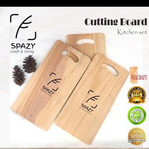 Talenan Kayu / Wooden Cutting Board / Wood Chopping Board