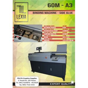 Mesin Lem Binding Buku A3 Tipe 60M - A3 Merek LEXIA