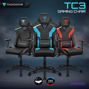 ThunderX3 TC3 Gaming Chair / Kursi Gaming - Jet Black