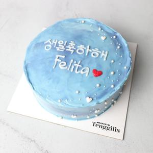 [SURABAYA] Simple Korean Cake Kue Tart Kue Ulang Tahun