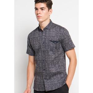 EDITION MENS ESS20 NAVY Short Sleeve Woven Shirt