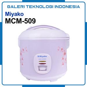 Miyako MCM-509 Rice Cooker Magic Com [1.8 Liter]