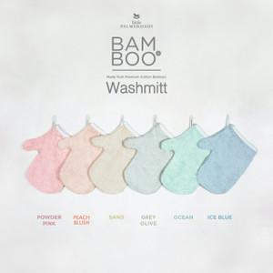 BAM & BOO BAMBOO WASHMITT SET OF 2 - LITTLE PALMERHAUS Washlap