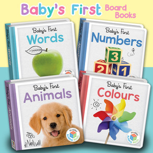 Baby's First Animals, Colours, Words, Numbers Board Book