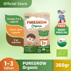 PUREGROW Organic 360gr Boy Version Free Mamypoko