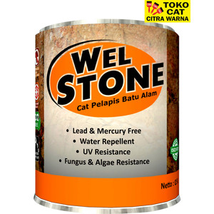 Cat Batu alam Welstone 0,9 Liter