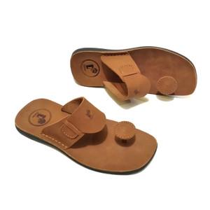 Sandal pria model jamur full kulit sandal pria terbaru model jamur