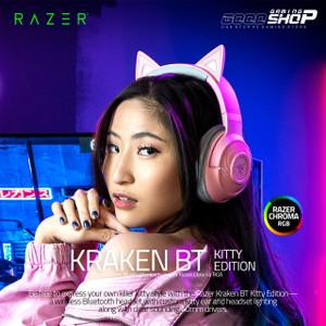 Razer Kraken BT Kitty Edition Quartz - Gaming Headset Bluetooth