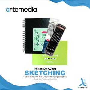 Paket Derwent Sketching