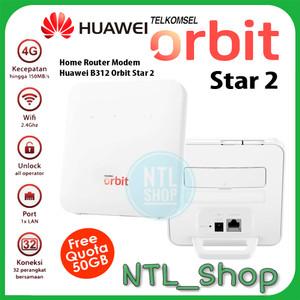 Huawei Home Modem Router B312 Orbit Star 2 -Modem Wifi 4G Huawei B312