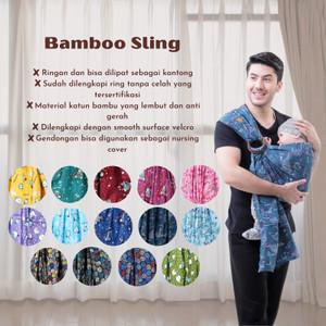 Cuddleme Ringsling Bamboo Gendongan Bayi Ringsling