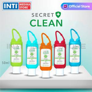 SECRET CLEAN - Hand Sanitizer Gel Aloe Vera 50 ml | Aseptic Gel