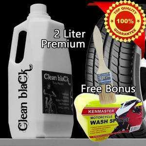 Semir Ban 2 Liter - Clean Black Tire Restore - Tire Polish - Murah