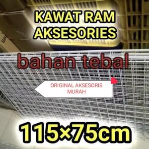 Ram dinding 115cmx75cm tebal kawat ram dinding 115cmx75cm tebal murah