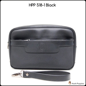 dompet Hush Puppies 518-1 black Super tas cowok clutch cowok handbag