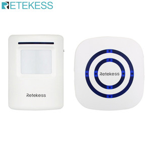 Retekess T801 Bel Alarm Nirkabel dengan PIR Motion Infrared Detector