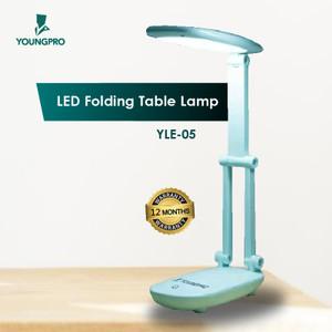 YOUNGPRO Lampu Belajar 3 Mode Lipat Meja Kantor Rechargeable LED Lamp