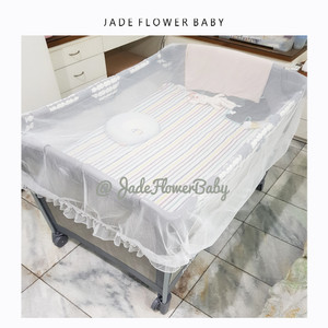 Kelambu untuk Box Nuna Graco Baby Does Joie Pliko