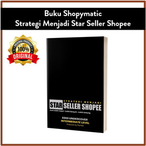 Buku Shopymatic - Strategi Menjadi Star Seller