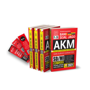 Buku Bank Soal Jago AKM dan Survei Kompetensi Minimum SD/MI Tahun 2021