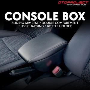 CONSOLE BOX BRIO,OLD BRIO,MOBILIO,BRV WITH USB CHARGER