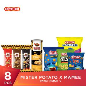 Mister Potato x Mamee Paket Hemat C