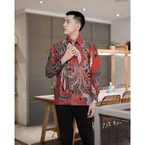 Kemeja Batik Pria   Lengan Panjang   Regular Fit   Naranga