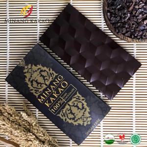 Organic 100% Dark Chocolate - Real 100% Dark series - 70gr