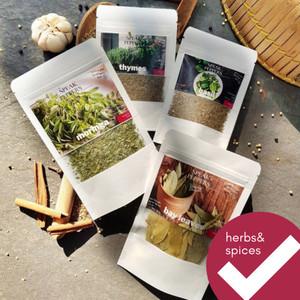 Ragam Daun Kering / dried herbs bumbu masak dapur by Speak Peppers