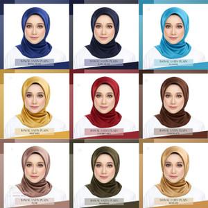 Jilbab / Hijab / Scraf Wanita Warna Warni Korea Style