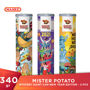 Mister Potato Mystery Giant Can New Year Edition - 2 Pcs