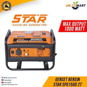 Genset Star Daya Rata-rata 850 Watt - Max 1000 watt SPG1500 2T