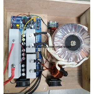 Low frekuensi pure sine wave output 220v 50hz siap pake 5000w 20Mosfet