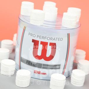 Grip Tenis Wilson Pro Perforated Feel Overgrip Tennis Original White