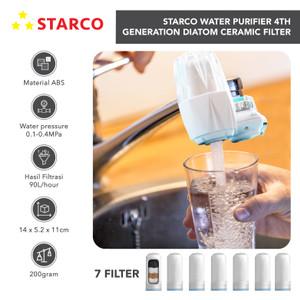 Starco Pemurni Air Kran Diatom Ceramic Filter Water Filter Keran