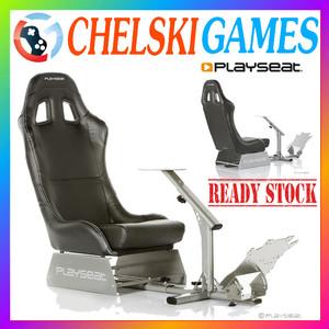 PLAYSEAT® Evolution BLACK / Kursi Mobil Playseat Evolution BLACK